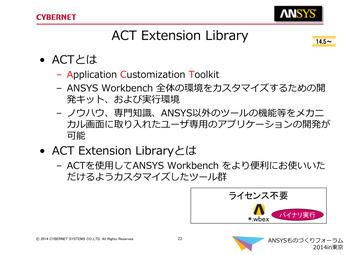 ACT Extension Library